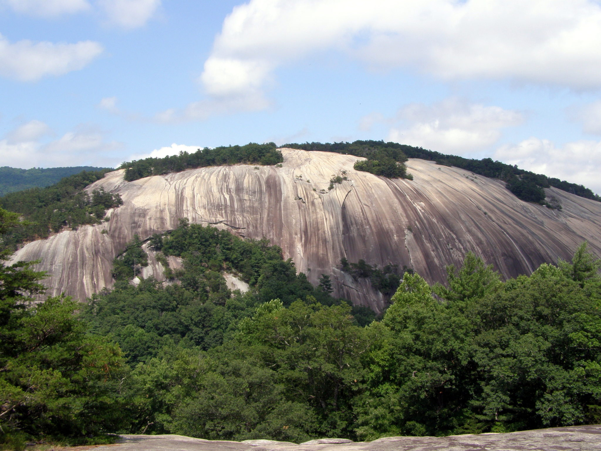Stone Mountain And Wolf Rock Stone Mountain State Park